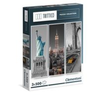 PUZZLE 500X3 TRITTICO NEW YORK