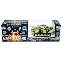 BATTLE TANK 2ASS. CARRO ARMATO R/C       26CM  BATTERIE NON INCLUSE
