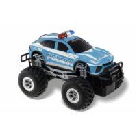 Suv Big Wheels Polizia R/c 7funz. 1:20   19cm  +4anni