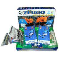 Zeugo Calcio Scatola Base 41x27.5x7cm +6 2 Squadre/2 Porte/2 Palloni/regolamento