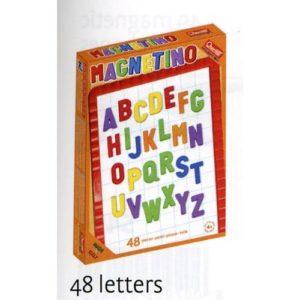 Quercetti Lavagna 48 Lettere Maiuscole