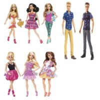 Barbie Fashionistas Ass.to    +3anni     Scatola Blisterata 32.5x12.5x6cm