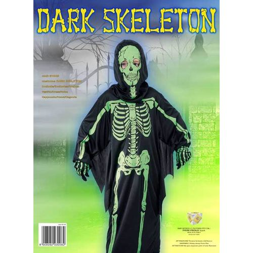 COSTUME DARK SKELETON TG.L