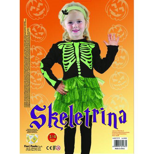 Costume Skeletrina Tg.3-4