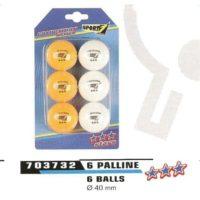 BLISTER 6 PALLINE 3 STARS