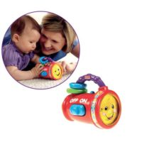 TORCIA LUMINOSA FISHER-PRICE 15X21X9CM   PILE INCLUSE  SUONI E MELODIE