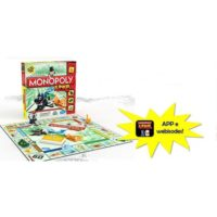 Monopoly Junior 2-4giocatori 4 Personagg 267x267x50mm.