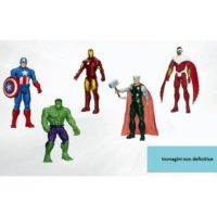 Avengers Action Figures 30cm Ass.        5punti Articolazione 101x305x51mm
