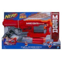Nerf Mega Cyclone 6dardi Spara Oltre 20m 410x254x89mm