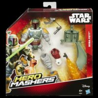 STAR WARS HERO MASHERS DELUXE 4 PERSON.  BOX:203X235X44MM