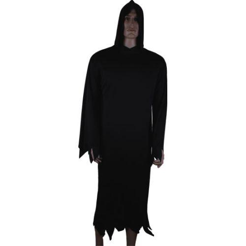 HALLOWEEN COSTUME NERO C/CAPPELLO ADULTI