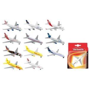 MAJORETTE FLYING AEREO CIVILE 13CM BLIST