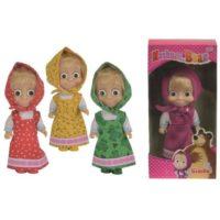 Bambola Masha Personaggio 12 Cm          Disponibile In 4 Modelli A Scelta