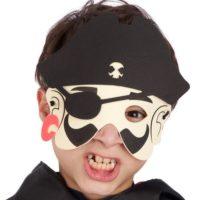 Maschera Pirata Bimbo In Eva In Busta