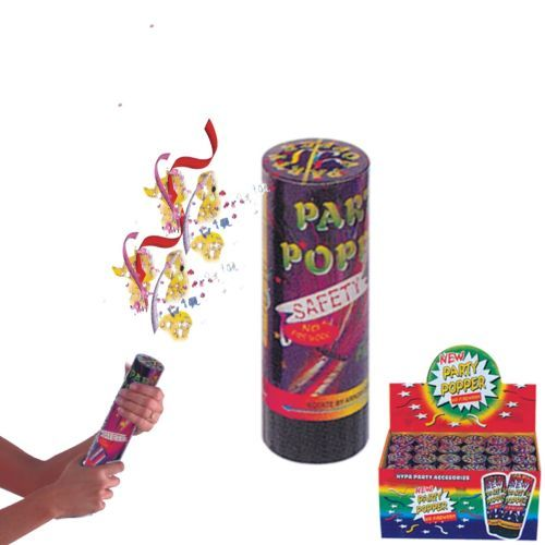 PARTY POPPER A MOLLA H.cm.11