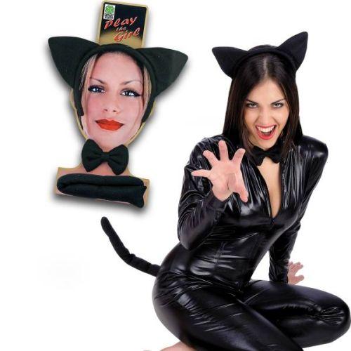 Halloween Set Gattina Nera Lusso