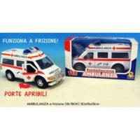 Ambulanza In Scatola Cm.29.5x15x13