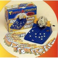 Tombola Automatica 48 Cartelle           Made In Italy - Hs Code: 95040000