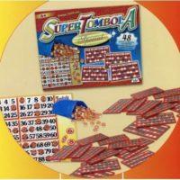 Tombola Special 24 Cartelle Plastificate Segnapunti Scorrevoli Scat.40x32x5