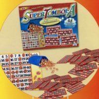 Tombola Special 48 Cartelle Plastificate Segnapunti Scorrevoli 40x32x5