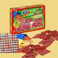 Tombola Special 72 Cartelle Plastificate Segnapunti Scorrevoli 40x32x5