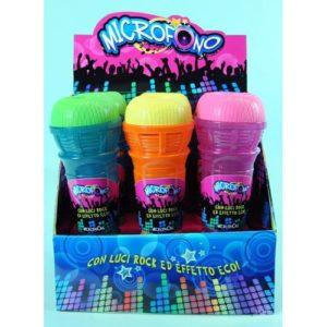 MICROFONO B/O LUCI/ECO 3COL     D/BOX