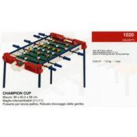 Calciobalilla Champion Cup 96x60x68cm    Gambe In Acciaio