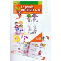 Albo Didattico C/stickers Le Parole      Intorno A Te Esente Iva Art.74 21x29
