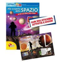 ALBO STICKERS ALLA SCOPERTA DELLO SPAZIO NON IMP. IVA ART.74/C