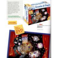 Discovery Scuola Di Magia Con 54giochi   Di Prestigio Dvd E Manuale 8-12 Anni