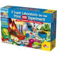 SUPER LABORATORIO PRIMI 100 ESPERIMENTI  8/12ANNI  46X31X8CM