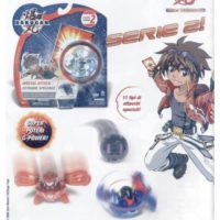 BAKUGAN SPECIAL ATTACK ASS. 19X21CM      1 CARTA ABILITA'+1 CARTA PORTALE METALLO