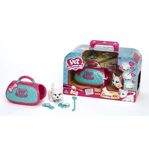 PET PARADE DELUXE CARRY KIT 25X15X13CM