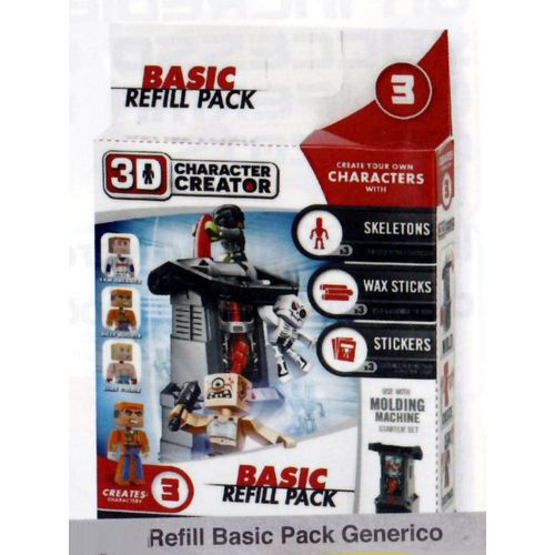 3D REFILL BASIC PACK GENERICO            20X20X5CM