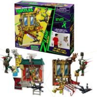 TURTLES NEW PLAYSET Z-LINE BASE