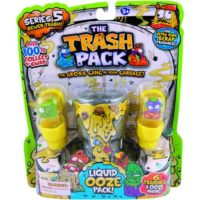 TRASH PACK NEW BLISTER CON SLIME         6 PERSONAGGI INCLUSI