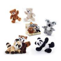 Cuccioli 6ass. H21 Cm. Orso Bruno/bianco Koala Panda Orsetto Lavatore 2colori