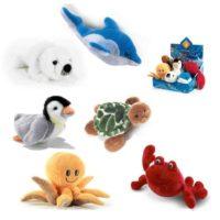 Cuccioli Dell'oceano 26cm 6ass.polpo/foc A/tartaruga/pinguino/granchio/delfino