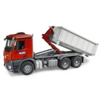 BRUDER MB AROCS CAMION CONTAINER RIBALT. 1:16