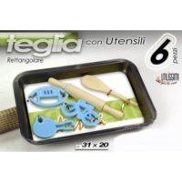 SET TEGLIA + 5 UTENSILI