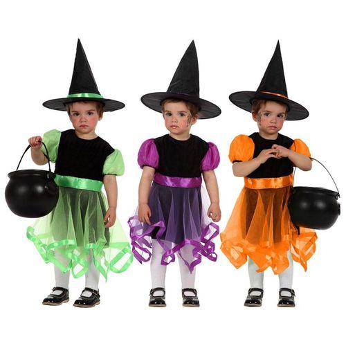 Costume Strega Baby 3ass.  12-24 Mesi