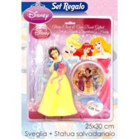 SET SVEGLIA + SALVADANAIO PRINCESS