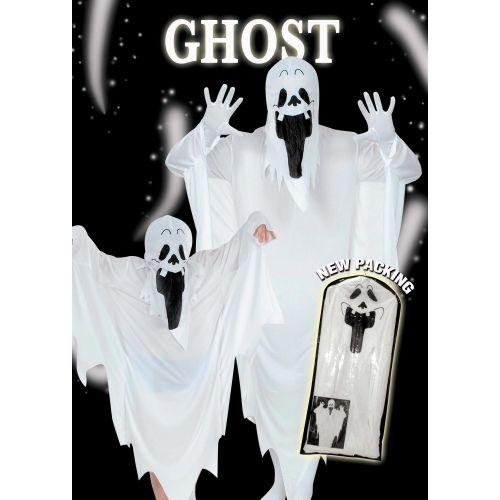 Halloween Costume Fantasma 8/10 Anni