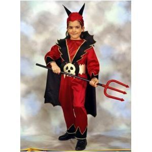 HALLOWEEN COSTUME DEVIL BOY 6/8 ANNI