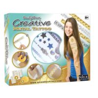 CREATIVE METAL TATTOO MEDIO +8ANNI       23X19X4CM - SI APPLICANO CON ACQUA