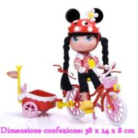 MINNIE C/BICICLETTA