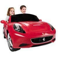 Ferrari California 12v 147x90h61cm 2post Retro Batt.ricaricabile Anni 3+