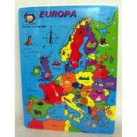 PUZZLE LEGNO EUROPA
