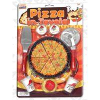 BLISTER PIZZA C/ROTELLA E PALETTA.3ANNI+ INCL.2 BEVANDE E SPAGHETTI.