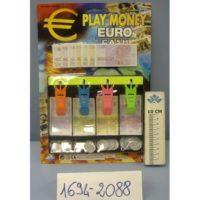 Blister Cassa Con Banconote E Monete     22x20cm